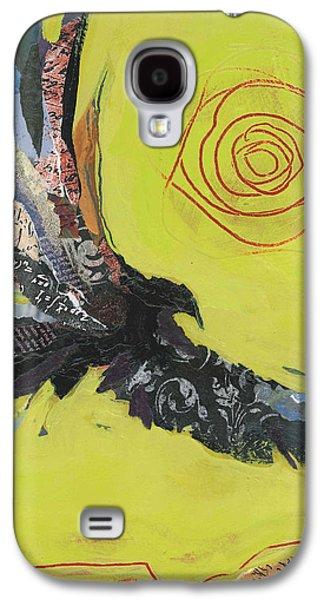 Sun Galaxy S4 Cases - Hawk Galaxy S4 Case by Shelli Walters