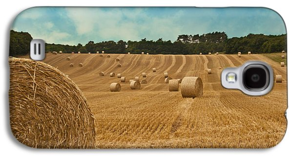 Consumerproduct Galaxy S4 Cases - Hay Bales Galaxy S4 Case by Nomad Art And  Design