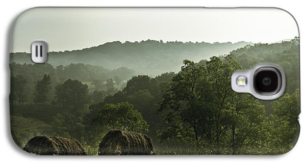Hay Galaxy S4 Cases - Hay Bales Galaxy S4 Case by Shane Holsclaw