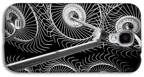 Hay Galaxy S4 Cases - Hay Rake Galaxy S4 Case by Bill  Robinson
