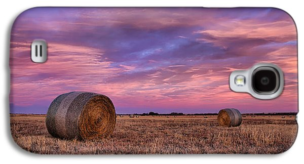 Bale Galaxy S4 Cases - Hayseed Galaxy S4 Case by Thomas Zimmerman