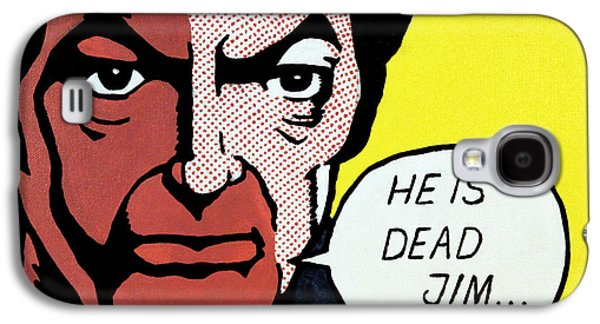 Recently Sold -  - Enterprise Galaxy S4 Cases - He Is Dead Jim Galaxy S4 Case by Judith Groeger