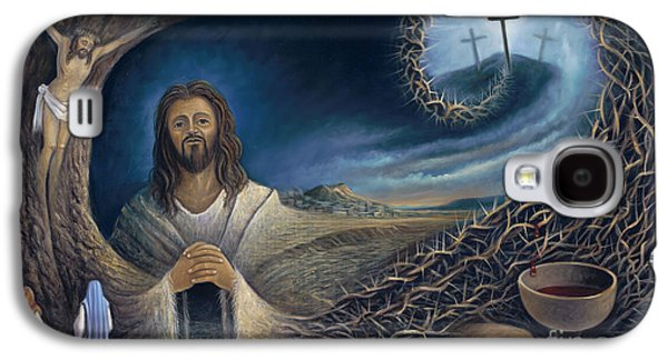 Religious Galaxy S4 Cases - He Knew Yet He Went Through Galaxy S4 Case by Ricardo Chavez-Mendez in Collaboration with Joyce Hodges