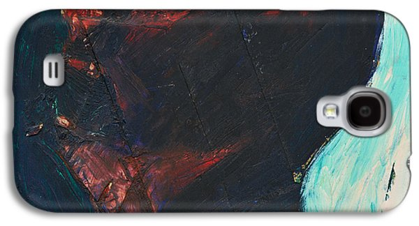 Americans Reliefs Galaxy S4 Cases - Head in Profile HD Galaxy S4 Case by John Castell