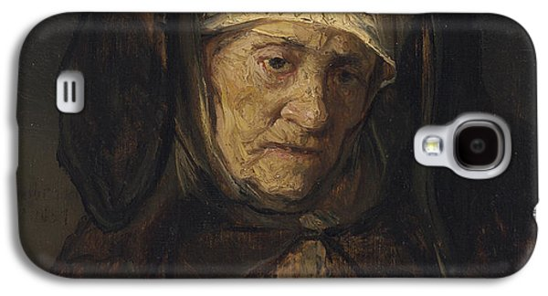 Head Of An Aged Woman Galaxy S4 Case by Rembrandt