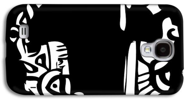 Etc. Digital Art Galaxy S4 Cases - Head Of The Class Galaxy S4 Case by Kamoni Khem