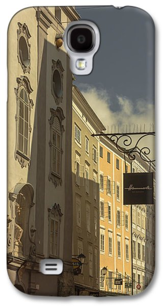 Salzburg Galaxy S4 Cases - Heading for the shops Galaxy S4 Case by Chris Fletcher
