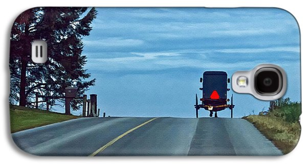 Amish Photographs Galaxy S4 Cases - Heading Home Galaxy S4 Case by Priscilla Burgers