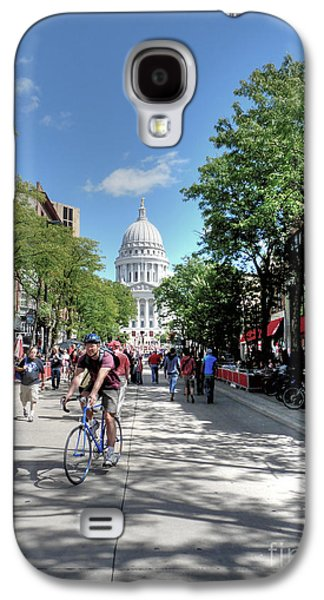Madison Galaxy S4 Cases - Heading to Camp Randall Galaxy S4 Case by David Bearden