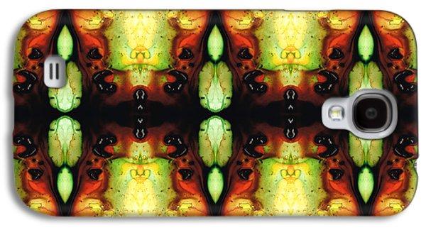 Visionary Artist Galaxy S4 Cases - Healing Energy - Visionary Art By Sharon Cummings Galaxy S4 Case by Sharon Cummings