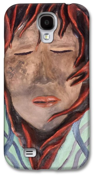 Landmarks Ceramics Galaxy S4 Cases - Healing in the Desert Galaxy S4 Case by Yovannah Diovanti
