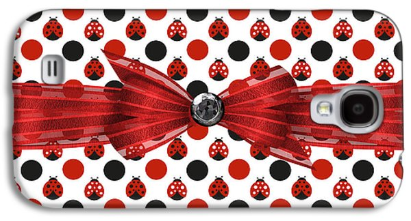 Ladybug Galaxy S4 Cases - Healing Ladybugs Galaxy S4 Case by Debra  Miller