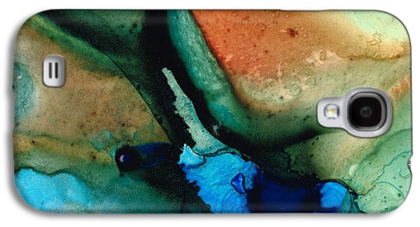 Modern Abstract Galaxy S4 Cases - Healing Thoughts Galaxy S4 Case by Sharon Cummings