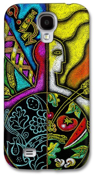 Plans Paintings Galaxy S4 Cases - Health Food Galaxy S4 Case by Leon Zernitsky