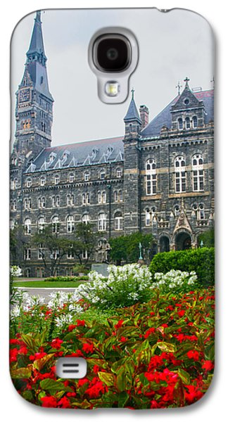 Healy Hall Galaxy S4 Case by Mitch Cat