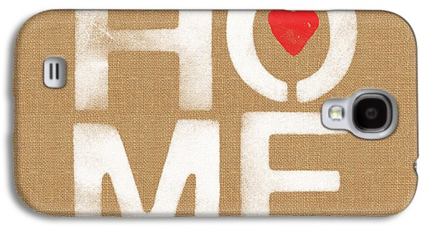 Heart And Home Galaxy S4 Case by Linda Woods
