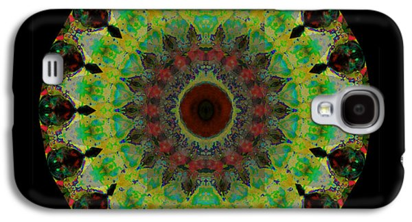 Heart Aura - Mandala Art By Sharon Cummings Galaxy S4 Case by Sharon Cummings