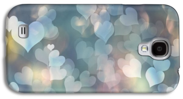 Day Galaxy S4 Cases - Heart Background Galaxy S4 Case by Amanda And Christopher Elwell