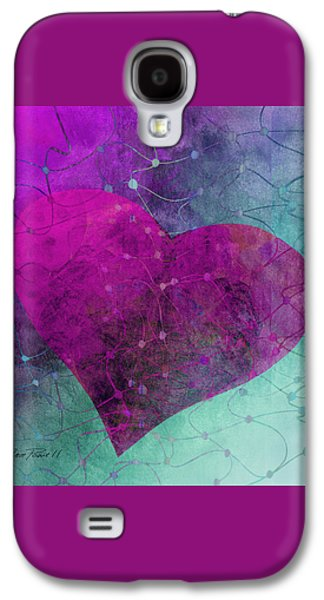 Heart Connections Two Galaxy S4 Case by Ann Powell