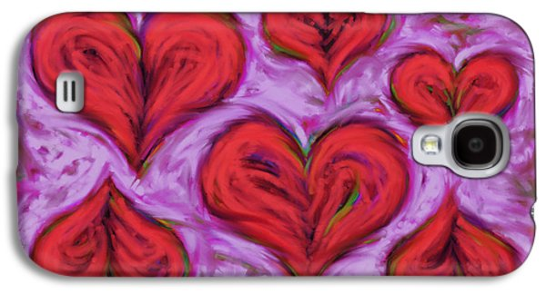 Loose Style Digital Art Galaxy S4 Cases - Heart drift Galaxy S4 Case by Keith Mills
