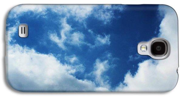 Anna Villarreal Garbis Galaxy S4 Cases - Heart in the Sky Galaxy S4 Case by Anna Villarreal Garbis