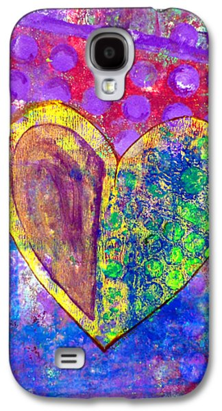 Emotion Mixed Media Galaxy S4 Cases - Heart of Hearts series - Discovery Galaxy S4 Case by Moon Stumpp