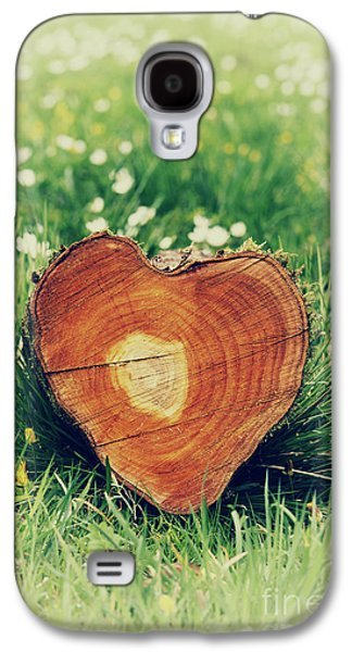 Nurture Galaxy S4 Cases - Heart of Nature Galaxy S4 Case by Tim Gainey