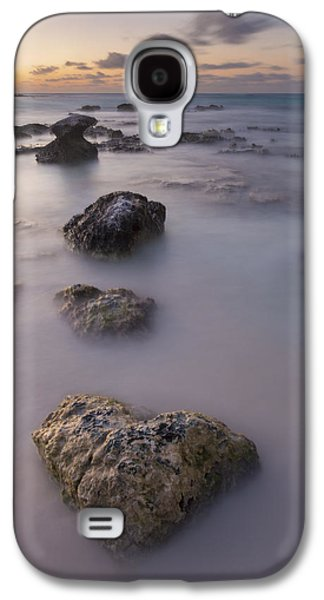 Sunset Abstract Galaxy S4 Cases - Heart of Stone Galaxy S4 Case by Adam Romanowicz