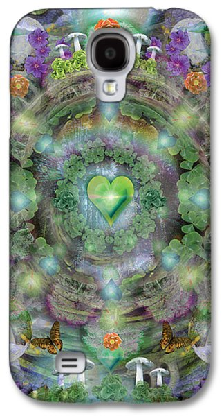Alixandra Mullins Galaxy S4 Cases - Heart of the Forest Galaxy S4 Case by Alixandra Mullins