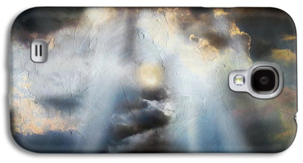 Abstract Nature Galaxy S4 Cases - Heart Of The Storm - Abstract Realism Galaxy S4 Case by Georgiana Romanovna