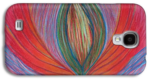 Spiritual Pastels Galaxy S4 Cases - Heart Opening Galaxy S4 Case by Jamie Rogers