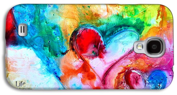 Christian work Paintings Galaxy S4 Cases - Live Hope Dream Galaxy S4 Case by Ivan Guaderrama