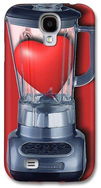 Interior Still Life Mixed Media Galaxy S4 Cases - Heart Series Love Blenders Galaxy S4 Case by Tony Rubino