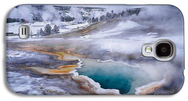 Alga Galaxy S4 Cases - Heart Spring Galaxy S4 Case by Priscilla Burgers