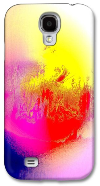 Psychiatric Paintings Galaxy S4 Cases - Heartbreaking Galaxy S4 Case by Hilde Widerberg