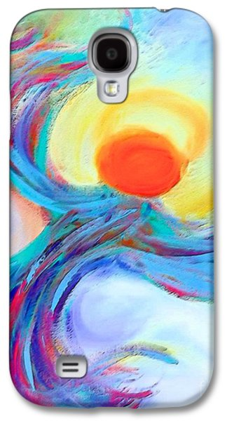 Recently Sold -  - Abstract Digital Digital Galaxy S4 Cases - Heaven Sent Digital Art Painting Galaxy S4 Case by Robyn King