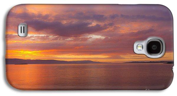 Midsummer Galaxy S4 Cases - Heavenly Fire Galaxy S4 Case by Heiko Koehrer-Wagner