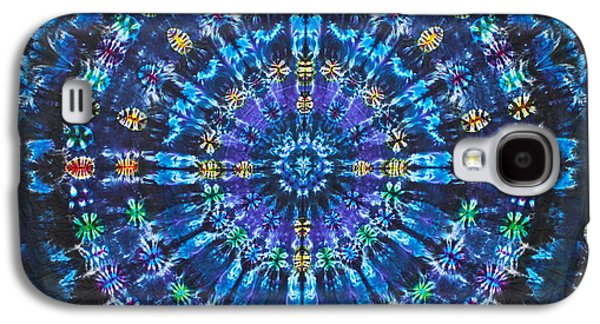 Dye Tapestries - Textiles Galaxy S4 Cases - Heavenly Hub Galaxy S4 Case by Courtenay Pollock