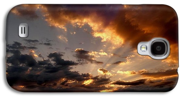 Surreal Landscape Galaxy S4 Cases - Heavenly Rapture Galaxy S4 Case by Mike Breau