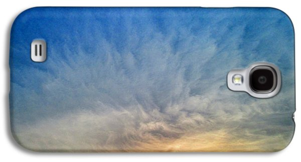 Meshed Photographs Galaxy S4 Cases - Heavenly Skies Galaxy S4 Case by Constance Carlsen