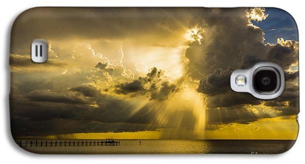 Sunbeams Galaxy S4 Cases - Heavens Window Galaxy S4 Case by Marvin Spates