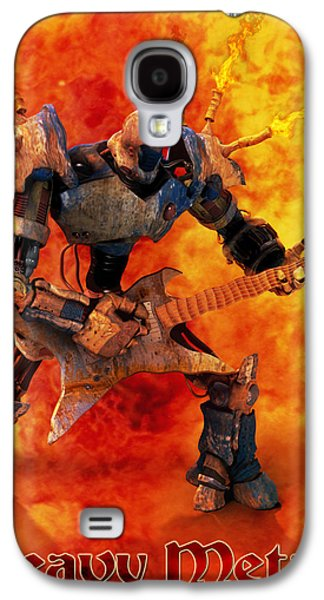 Frederico Borges Galaxy S4 Cases - Heavy Metal Galaxy S4 Case by Frederico Borges