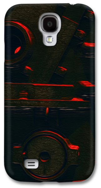Abstract Forms Galaxy S4 Cases - Heavy Metal Galaxy S4 Case by Jack Zulli