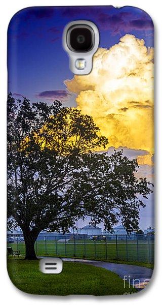 Rain Storm Galaxy S4 Cases - Heavy Sky Galaxy S4 Case by Marvin Spates