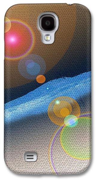 Abstract Digital Photographs Galaxy S4 Cases - Heck if I know  Galaxy S4 Case by Jeff  Swan