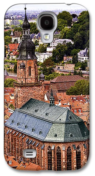 Landmarks Photographs Galaxy S4 Cases - Heidelberg Church of The Holy Spirit Galaxy S4 Case by Marcia Colelli
