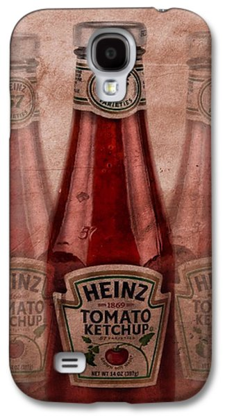 Heinz Tomato Ketchup Galaxy S4 Case by Dan Sproul