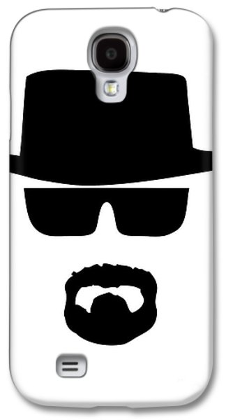 Face Digital Galaxy S4 Cases - Heisenberg Breaking Bad Galaxy S4 Case by Caio Caldas