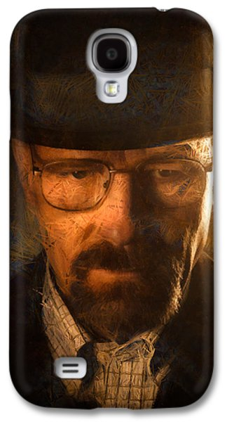 Tv Galaxy S4 Cases - Heisenberg Galaxy S4 Case by Ian Hufton