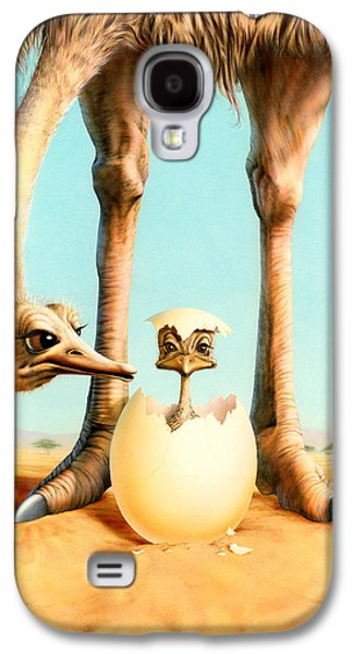 Hello Mum Galaxy S4 Case by Andrew Farley
